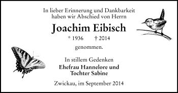 Zur Gedenkseite von Joachim