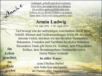 Zur Gedenkseite von Armin