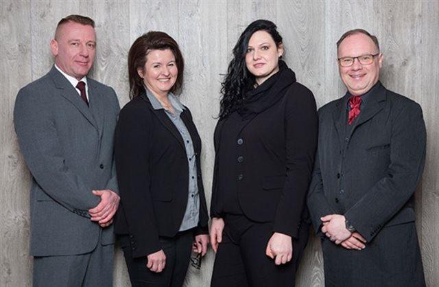 Matthias Kunz, Beatrix Streubel, Jasmin Schatz und Uwe Werner