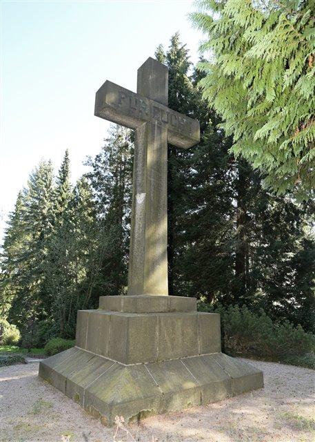 Kreuz zur Ehrung der Gefallenen des Ersten Weltkriegs | Foto: Ralf Wendland